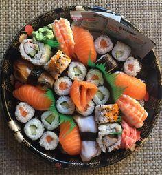 Sushi Sushi Recipes, Seafood Recipes, Asian Recipes, Healthy Recipes, Healthy Sushi, Japanese Food Sushi, My Sushi, Sushi Party, Recipes From Heaven