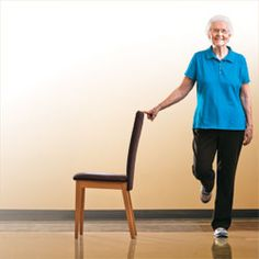 Balance Training Helps Prevent Falls: Diabetes Forecast Magazine Source by chestersolarz Chair Exercises, Balance Exercises, Stretching Exercises, Exercise Moves, Arthritis Exercises, Arthritis Remedies, Stretches, Tai Chi, Gym Workouts