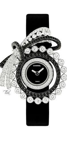 Chanel ● Resort 2015 Dubai Collection Love anything Chanel makes. This is a beautiful watch