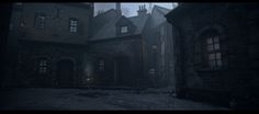 The Order 1886: Whitechapel area -Julien Lefebvre- , julien Lefebvre on ArtStation at https://www.artstation.com/artwork/qQ0By