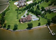 FSBO - Waterfront home on Miles River in Easton MD Beautiful 270 degree water view, Built by Owner in 1997, master on main, 3 bedrooms upstairs, 2 full baths on each floor, 150 ft. dock with 2 boat lifts, swimming pool with heater and retractable cover, skylights, ceiling fans, Andersen windows and doors, 2 fireplaces, driveway alarm with flood lights and alert...