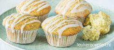 Perfect recept voor luchtige muffins met frisse citroensmaak en maanzaad, inclusief video