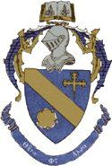 The colors of Theta Phi Alpha are silver, gold and blue.