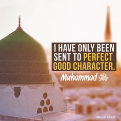 If only people knew the importance of good character - the most fundamental element of Islam. May the peace and blessings of Allah be upon Muhammad sallallahu alayhi wasallam, the best of moral character. May Allah Azza Wa Jalla pleased with us and keep us away from fitna dajjal (EM)