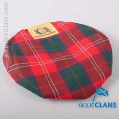 Chisholm Modern Tartan Cap. Free worldwide shipping available