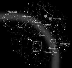Norse mythology constellations