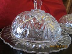 Vintage Glass Serving Dish Anchor Hocking Fairfield Lancaster Ohio 70s Decor Relish Plate Hipster Decor Jewelry Tray Etched Glass Fall Decor