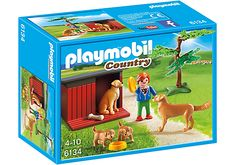 Playmobil Golden Retrievers with toys. Available in store at Giddy Goat Toys, Didsbury, Manchester, or on our online store. #blocks #buildingblocks #didsbury #childrenstoys #toyshop #manchester #toys #toysfortoddlers #playmobil #playmobildogs #goldenretriever #goldenretrievertoy