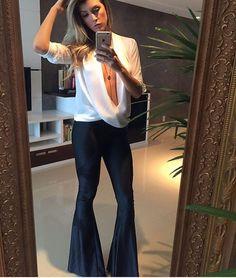 """158 curtidas, 7 comentários - DaMah Store (@damahstore) no Instagram: """"Meninas olhem que escândalo essa calça . Maravilhosa e veste super bem .  Calça flare cirre por R$…"""""""