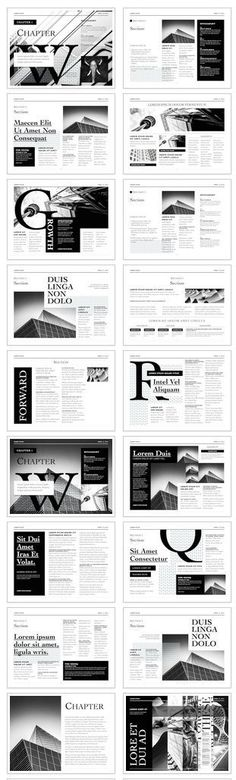The Editorial Template for iBooks Author -Form and function converge in the Editorial Template to create a look of sophistication and style. #newspaper #apple #selfpublishing: