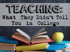 Teaching: What They Didn't Tell You in College