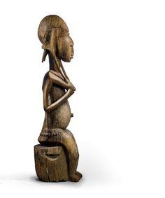 Statues, African Art, Garden Sculpture, Wood, Outdoor Decor, Female Characters, Woodwind Instrument, Timber Wood, Effigy