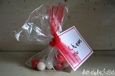 Homemade Valentines :: Bubblegum Valentines
