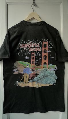 f145a474323 Vintage Original 1994 Grateful Dead Golden Gate Bridge SF Tee  gratefuldead   deadhead  deadcompany  gdp  rockband  bandtee  sanfrancisco  sf  band  90s