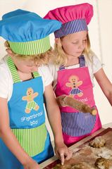 Gingerbread Apron & Chef Hat Gift Pack $29.95