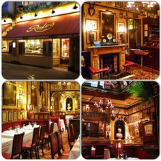 RULES Oldest restaurang in London. Rules was established by Thomas Rule in 1798 making it the oldest restaurant in London. It serves traditional British food, specialising in classic game.