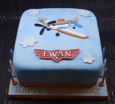 Disney Planes cake - Cake by That Cake Lady - CakesDecor