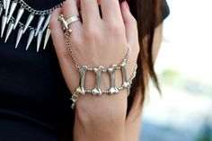 pulsera con anillo