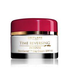 Crema de Día Antienvejecimiento SPF 15 Time Reversing Intense SkinGenistII™ #oriflame