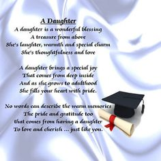 graduation for daughter | Personalised Coaster - Daughter Poem - Graduation + FREE GIFT BOX ...