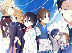 eden of the east saki Kokoro Connect, Kawaii, Illustrations And Posters, Anime, Otaku, Connection, Fan Art, Culture, Manga