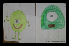 An oldie, but a goodie! Have students draw a monster. Then write a descriptive writing piece thoroughly explaining their monster. Give that written piece to a classmate. The classmate then draws what is written down. The two closest drawings win!
