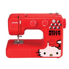 Janome 13512 Red Hello Kitty Sewing Machine - Overstock™ Shopping - Big Discounts on Janome Sewing Machines