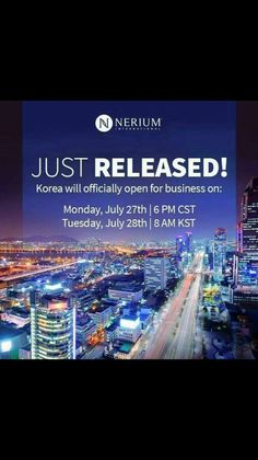 New Borders = New Opportunities   Are you ready to achieve more? http://www.sherylscott.nerium.kr #korea #globalexpansion #nerium #entrepreneur