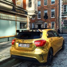 #NeverLateisBetter  drivingbenzes:  Mercedes-Benz A 45 AMG (Instagram @alexpenfold)  If you like it share it.
