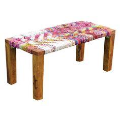 Weavings Bench