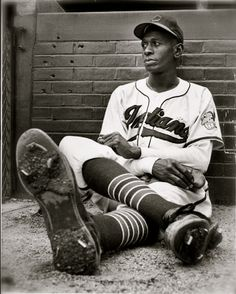 """Leroy """"Satchel"""" Paige, baseball legend, was named all-time outstanding player by the National Baseball Congress on this date January 30, 1965. Satchel was a legend in both the Negro League and Major League Baseball. He was the first player from the Negro League to be elected into the Baseball Hall of Fame in 1971.'"""
