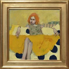 Milt Kobayashi, Her Yellow Dress oil