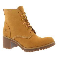 Timberland Women's AVERLY LACE wheat nubuck chukka boots TB08562B231