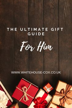 Be inspired by our beautiful range of luxury leather items with our ultimate gift guide for him. Our lovingly handcrafted items have an average lifespan of years, so a gift from Whitehouse Cox can be cherished for years to come! Christmas Gift Guide, Holiday Gifts, Christmas Gifts, Gift Guide For Him, The Ultimate Gift, Fashion Articles, Valentine Gifts, Luxury Fashion, Range