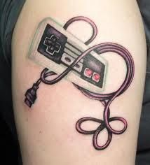 Nintendo // I'd want the wire to be shaped into a heart and for the controller to look plugged into me - in memory of growing up playing games with my big brother.