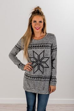 Snowflake Sweater!