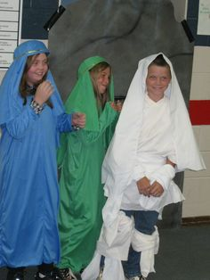 Kids have fun acting out the bible lesson as they learn big truths