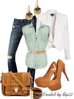 """""""Sage Green"""" by dlp22 on Polyvore"""