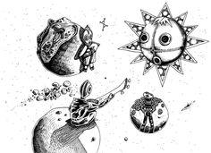 Federico Abuyé: Ilustración, comic, Illustration, design