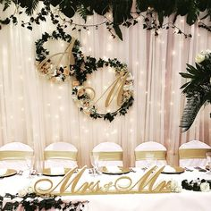 Discover recipes, home ideas, style inspiration and other ideas to try. Gold Wedding, Rustic Wedding, Wedding Day, Bride Groom Table, Wedding Planning Timeline, Wedding Decorations, Table Decorations, Sweetheart Table, Centre Pieces