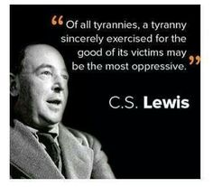 Another gem from C.S. Lewis