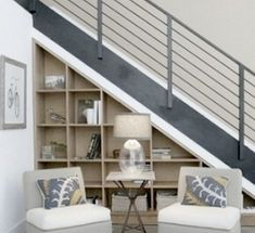 Ways to utilize under stair storage area | Hometone