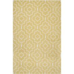 Safavieh Handmade Moroccan Chatham Light Gold/ Ivory Wool Rug (8' x 10')   Overstock™ Shopping - Great Deals on Safavieh 7x9 - 10x14 Rugs $355