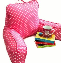 Back pillow with arms / Reading pillow with by AreSewPretty