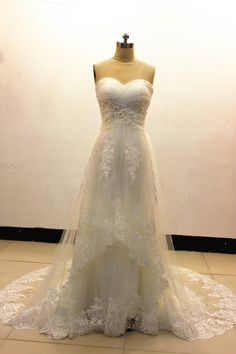 Wedding Dress/ Lace Wedding Dress Nice Beading Ivory Lace Wedding Dresses10% Off Discount