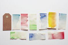 Watercolor - Wasserfarbe