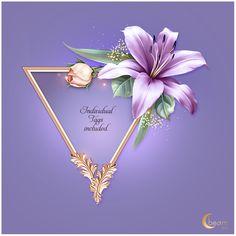 Lilacism - Payhip Photoshop 7, Lily Bloom, Stationary Design, Lilac Color, Petunias, Vignettes, Flower Art, Floral, Flowers