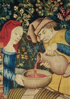 By analyzing ancient pottery, Patrick McGovern is resurrecting the libations that fueled civilization Art Du Vin, Medieval Paintings, Wine Art, Medieval Knight, Medieval Manuscript, Medieval Times, 14th Century, Beer, Historia