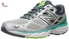 New Balance Women's W680V3 Running Shoe, Silver/Reef, 36.5 C/D EU - Chaussures new balance (*Partner-Link)