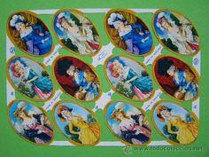 ...•:*¨.*:•. LAMINA DE CROMOS TROQUELADOS INGLESES MLP Nº955..•:*¨.*:•..... (Coleccionismo - Cromos y Álbumes - Cromos Troquelados)
